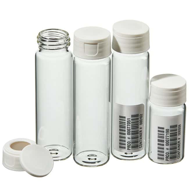 Thermo Scientific I-Chem Clear Clean Snap Vials with 0.125in. Septa:Testing