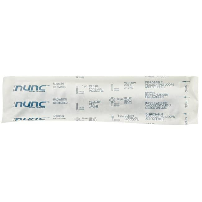 Thermo Scientific Nunc Disposable Loops and Needles  Loop; 10microL; Blue;