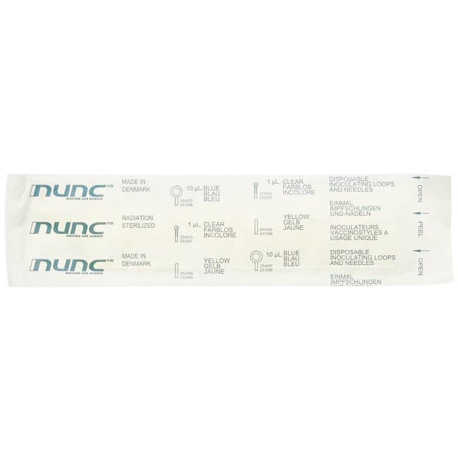 Thermo Scientific Nunc Disposable Loops and Needles  Loop, 1microL; Clear;
