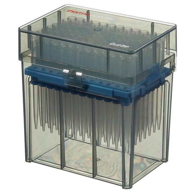 Thermo Scientific™ClipTip™ Pipettenspitzen ohne Filter (EU IVD/CE-Kennzeichnung) ClipTip 1000, 100 to 1000μL, Reload Stacks, Sterile Thermo Scientific™ClipTip™ Pipettenspitzen ohne Filter (EU IVD/CE-Kennzeichnung)
