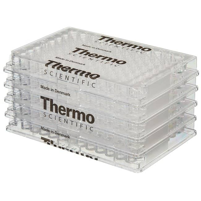 Thermo Scientific Clear C-Shaped Immuno Nonsterile 96-Well Plates  C-shaped,