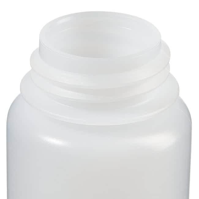 Fisherbrand™LDPE Wide-Mouth Bottles Capacity: 4 oz. (125mL); 38mm screw cap Fisherbrand™LDPE Wide-Mouth Bottles
