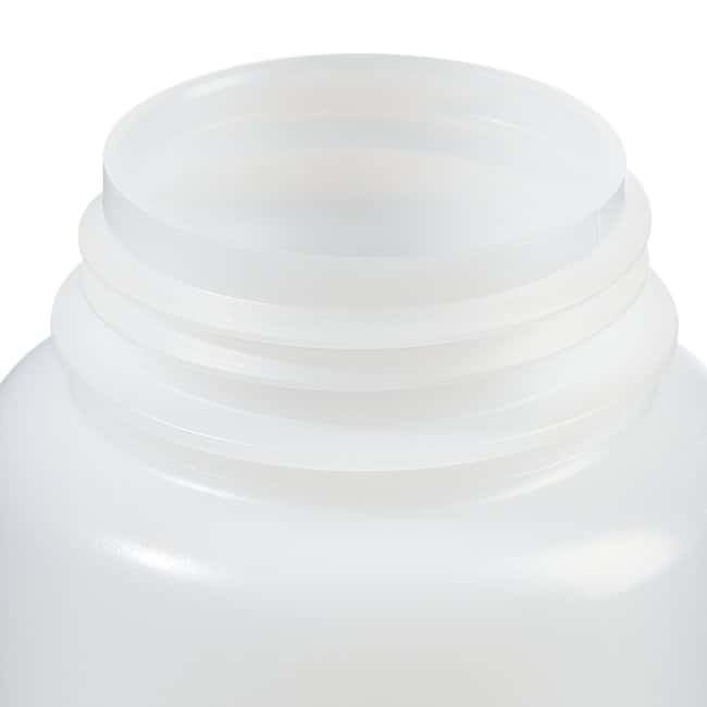 Fisherbrand™ LDPE Wide-Mouth Bottles Capacity: 16 oz. (500mL); 53mm screw cap Fisherbrand™ LDPE Wide-Mouth Bottles