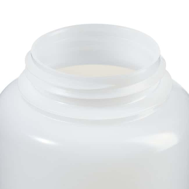 Fisherbrand™LDPE Wide-Mouth Bottles Capacity: 32 oz. (1000mL); 63mm screw cap Fisherbrand™LDPE Wide-Mouth Bottles
