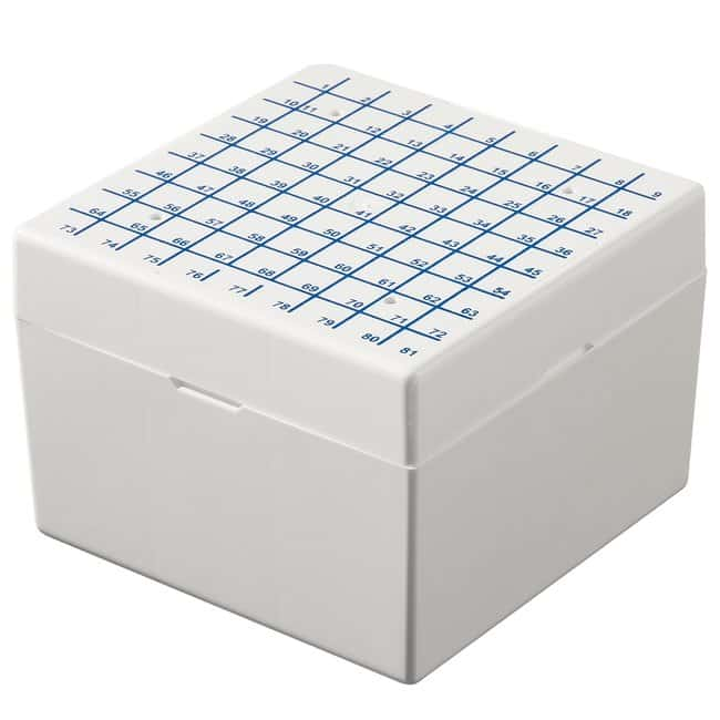 Fisherbrand™ Cryogenic Vial Storage Boxes For vials up to 5.0mL Fisherbrand™ Cryogenic Vial Storage Boxes