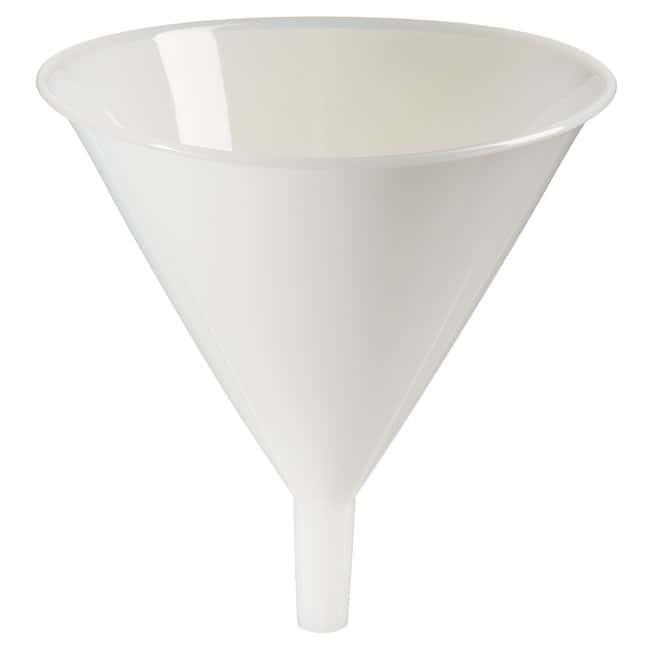 Fisherbrand™ Heavy-Duty/Utility Funnels Top dia. x H: 205 x 205mm; Capacity: 500mL Fisherbrand™ Heavy-Duty/Utility Funnels