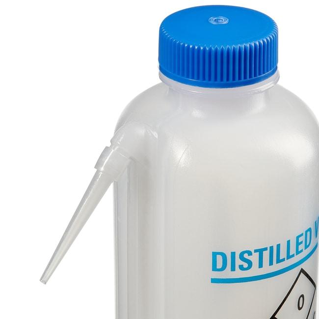 Fisherbrand™Pissettes Easy-Squeeze 500ml Pour eau distillée; 6/boîte Fisherbrand™Pissettes Easy-Squeeze 500ml