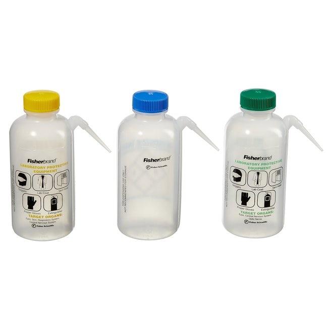 Fisherbrand™Easy-Squeeze Wash Bottles, 6/Cs. Solvent Assortment Pack; 6/Cs. Fisherbrand™Easy-Squeeze Wash Bottles, 6/Cs.