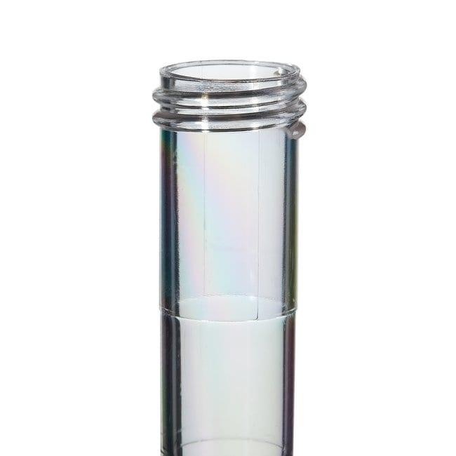 FisherbrandSterile Plastic Culture Tubes: Clear Polystyrene Clear polystyrene;