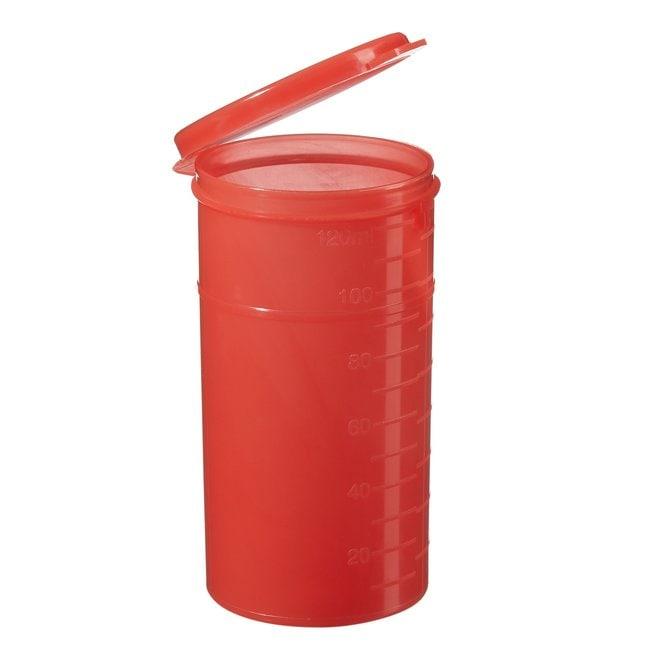 Thermo Scientific Capitol Vial  Polypropylene Flip-Top Vials 4 oz. (118mL);