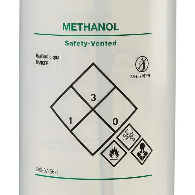 Fisherbrand  Solvent-Vented  and Safety-Labeled Wash Bottles