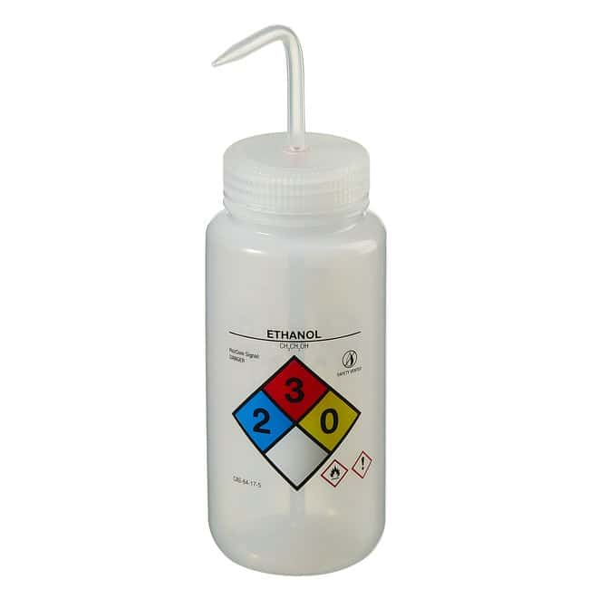 Fisherbrand  GHS Labeled Right-to-Know Safety-Vented Wash Bottles