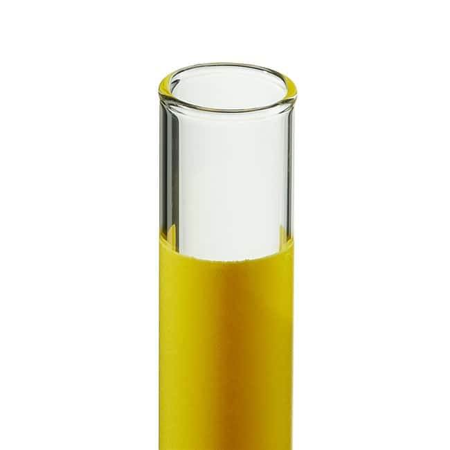 FisherbrandDisposable Plain-End Glass Tubes with Color-Coded Label Area