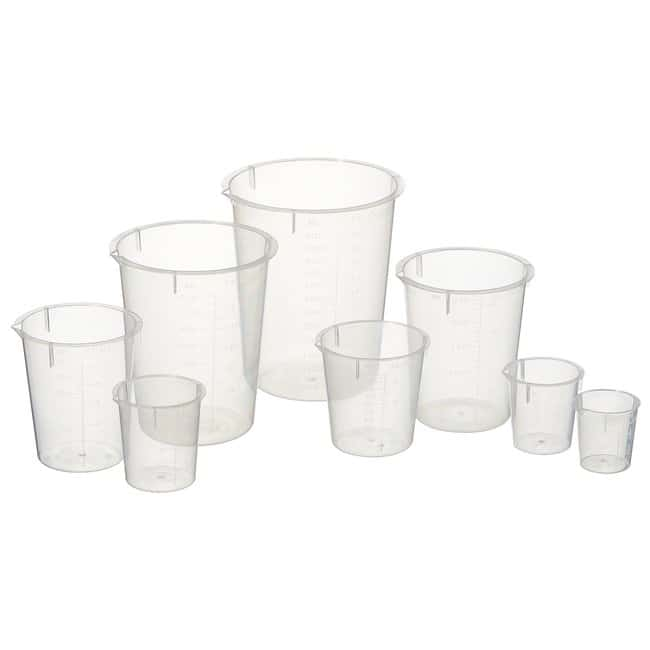 Fisherbrand™ Polypropylene Disposable Beakers