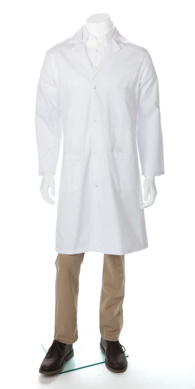 Fisherbrand Men's Poly/Cotton Lab Coats X-Large:Gloves, Glasses and Safety