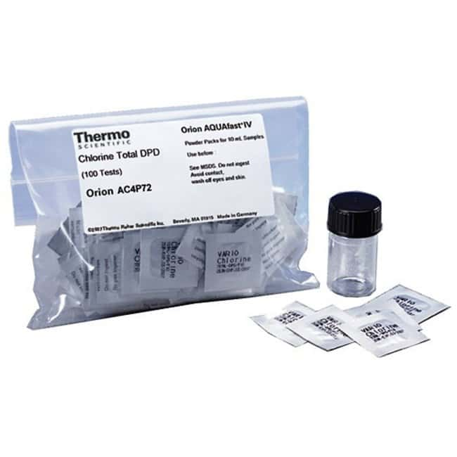 Thermo Scientific Orion Powder Chemistry Packs:Testing and Filtration:Water
