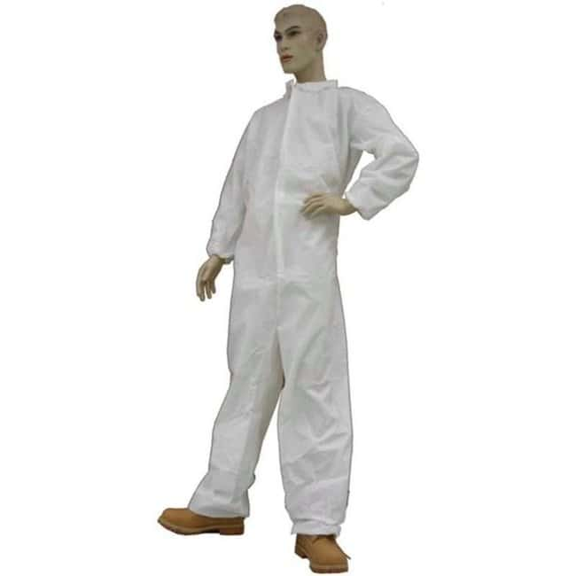 Tians epic Polypropylene White Coveralls Size: 3X-Large:Gloves, Glasses