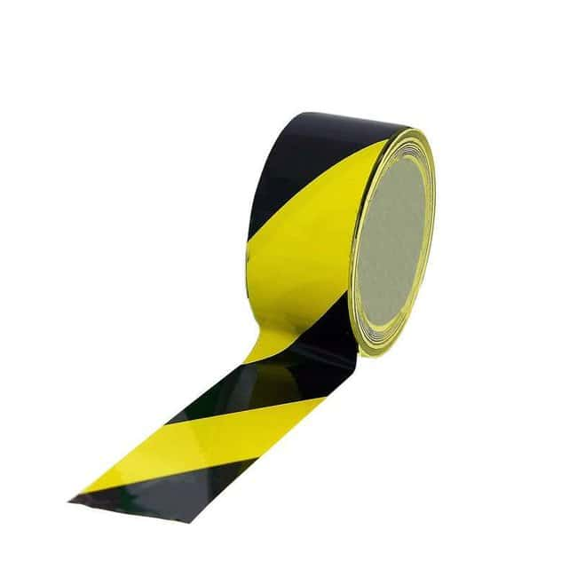 UltraTape UltraClean Striped Overlaminated Floor Marking Tape Polyester