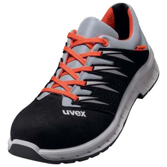 UvexTrend Black/Gray/Red PU/PU 69079 Low Shoe - Width 12 Black/Gray/Red, 69079 Low Shoe, Width: 12, Size: 42 Products