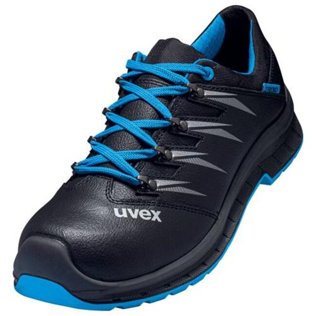 UvexTrend Black/Blue PU/PU 69341 Low Shoe - Width 10 Black/Blue, 69341 Low Shoe, Width: 10, Size: 43 Products