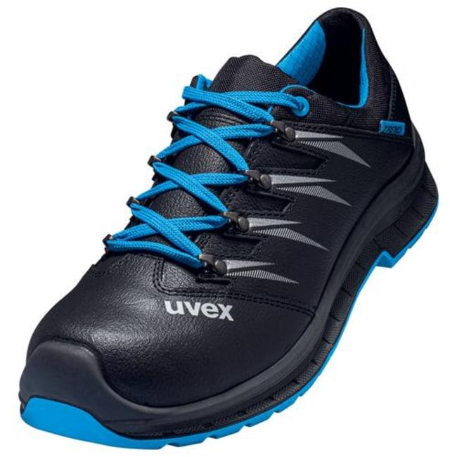 UvexTrend Black/Blue PU/PU 69343 Low Shoe - Width 12 Black/Blue, 69343 Low Shoe, Width: 12, Size: 44 Products