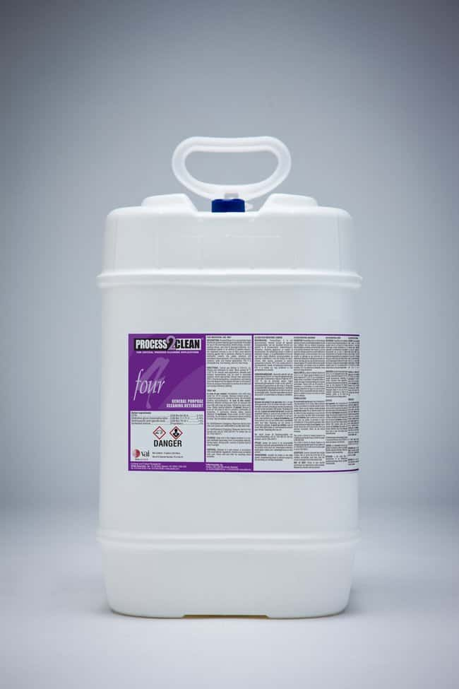 VAI Process2Clean 4 High-Foaming Detergent 5 gal.; Nonsterile:Gloves, Glasses