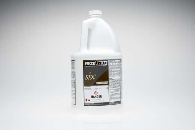 VAI Process2Clean 6 Chlorinated Alkaline Cleaner 1 gal.; Sterile:Gloves,