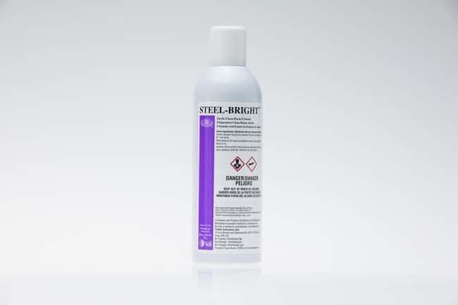 VAI Steel-Bright Stainless-Steel Cleaner Aerosal spray; 8 oz.:Gloves, Glasses