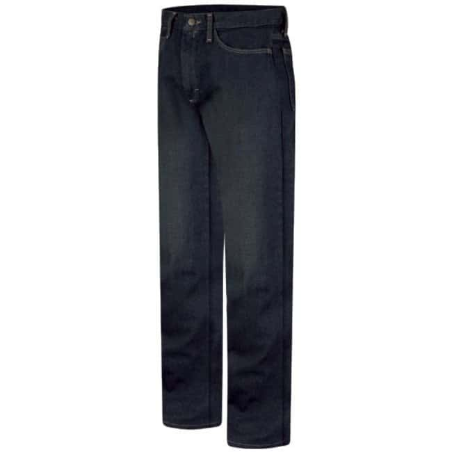 VF Workwear Bulwark Men's Straight-Fit Sanded Denim Jeans Waist size: 31