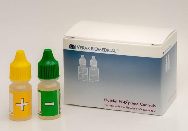 Verax BiomedicalPlatelet PGDprime Controls 30 tests:Diagnostic Tests and