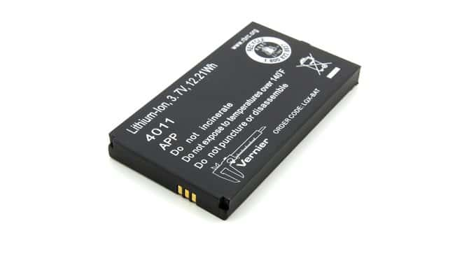 VernierLabQuest 2 and LabQuest Stream Battery Type: Replacement lithuim