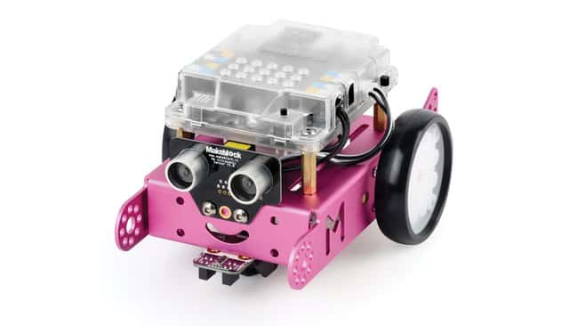 Vernier mBot (Pink) and STEM Activities Module  Color: Pink:Teaching Supplies