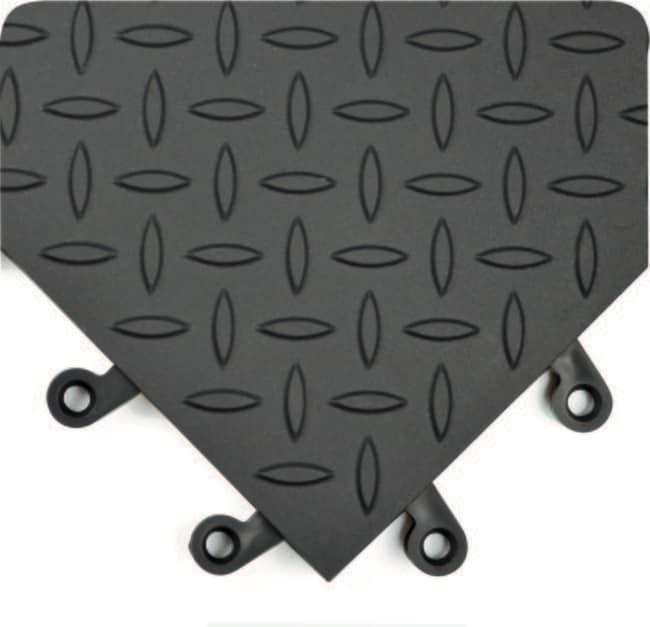 Wearwell ErgoDeck Diamond Plate General Purpose Solid Matting:Gloves, Glasses