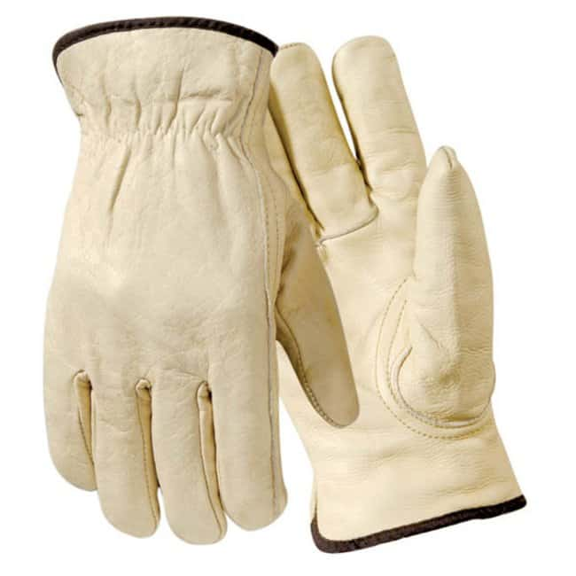 Wells LamontEconomy Fleece Lined Grain Cowhide Gloves:Personal Protective