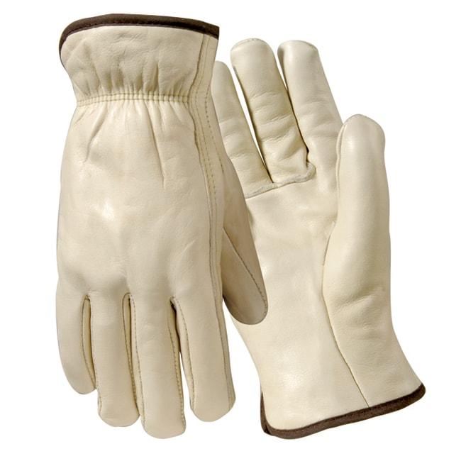 Wells LamontPremium Grain Cowhide Leather Drivers Gloves - Straight Thumb:Personal