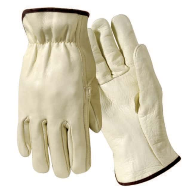 Wells LamontGrain Cowhide Leather Drivers Gloves Large:Personal Protective