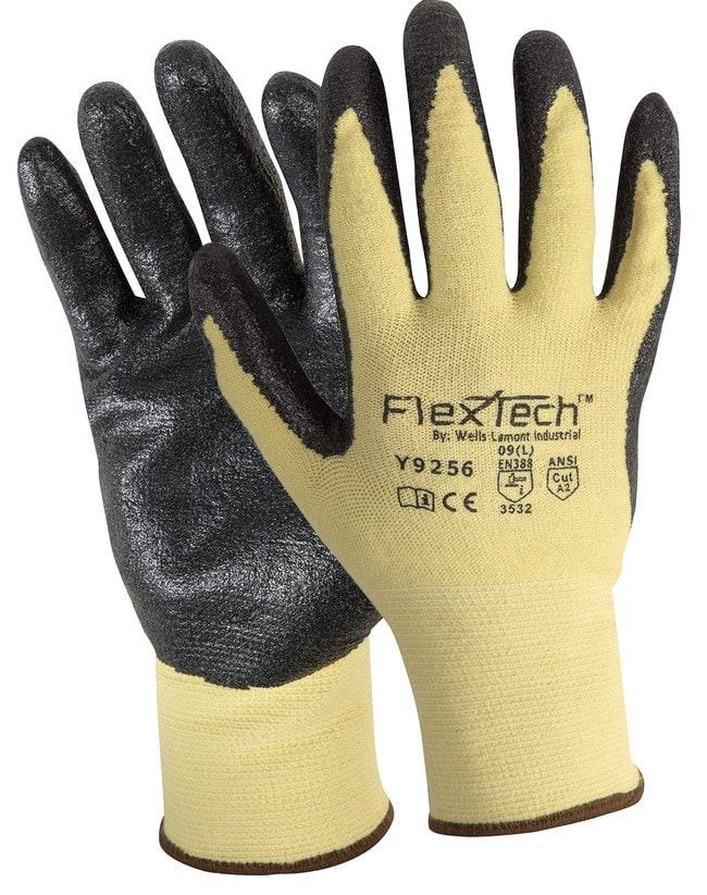 Wells Lamont Industrial FlexTech Gloves with Foam Nitrile Palm Grip::