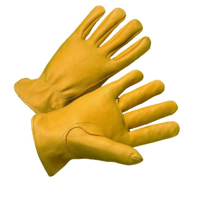 West Chester Premium Grain Deerskin Leather Driver Gloves:Gloves, Glasses
