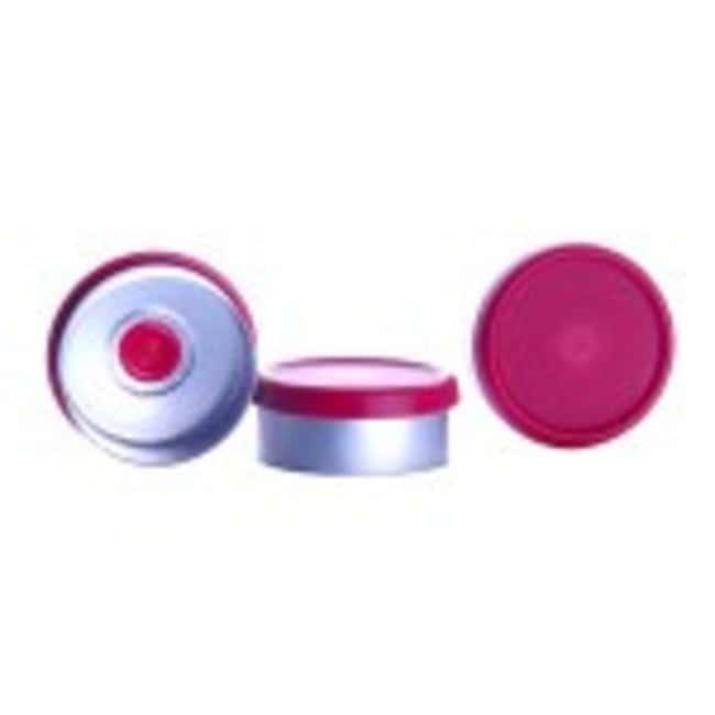 DWK Life SciencesWheaton™ CompletePAK Sterile Vial Seals 20mm; Red DWK Life SciencesWheaton™ CompletePAK Sterile Vial Seals