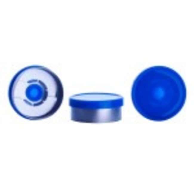 DWK Life Sciences Wheaton CompletePAK Sterile Vial Seals 20mm; Blue:Test