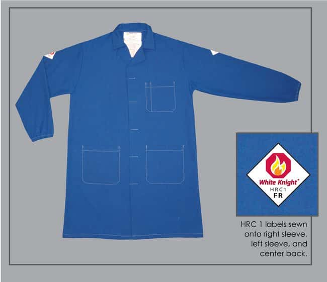 White Knight Flame-Resistant Unisex Lab Coat:Gloves, Glasses and Safety:Personal