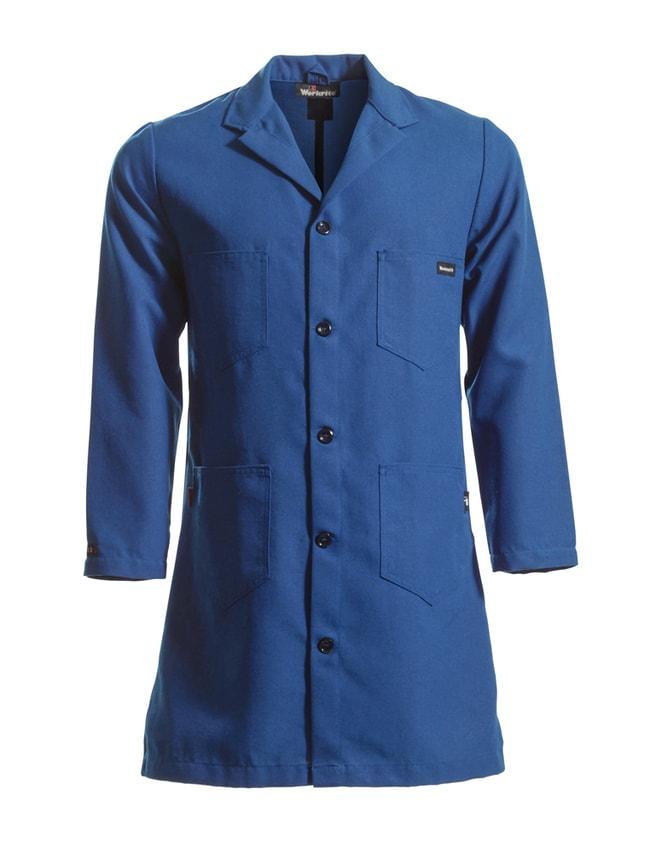 Workrite Nomex Lab Coats Navy Blue; Regular; Large:Gloves, Glasses and