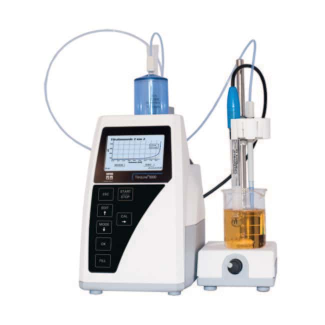YSI TitroLine 5000 Autotitrator with Calibration Certificate:Thermometers,