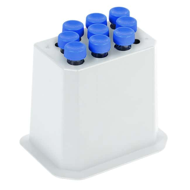 Fisherbrand™ Isotemp™ Shake Touch Shakers Accessory Blocks Conical tube Block; For 15mL tubes; 9 wells; Well dia.: 0.7 in. (1.7cm); Depth: 4.02 in. (10.2cm) Products
