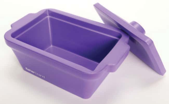 Fisherbrand™EVA Foam Ice Pans and Buckets with Lids 4 L capacity; Purple color; Pan Fisherbrand™EVA Foam Ice Pans and Buckets with Lids