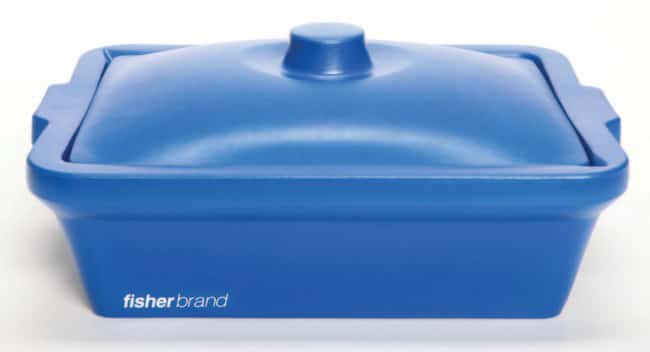 Fisherbrand™EVA Foam Ice Pans and Buckets with Lids 9 L capacity; Blue color; Pan Fisherbrand™EVA Foam Ice Pans and Buckets with Lids