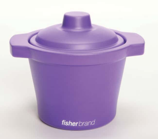 Fisherbrand™EVA Foam Ice Pans and Buckets with Lids 4 L capacity; Purple color; Bucket Fisherbrand™EVA Foam Ice Pans and Buckets with Lids