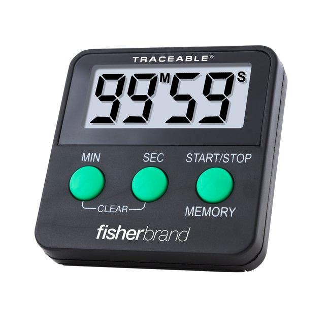 fisherbrand traceable benchtop timer 100 minute timer range 99