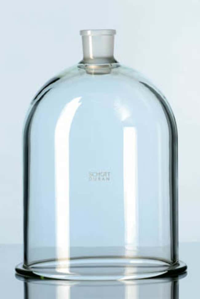 Duran™Borosilicate Glass Flat Flange Bell Jars with Neck Bore O.D.: 215mm Ver productos