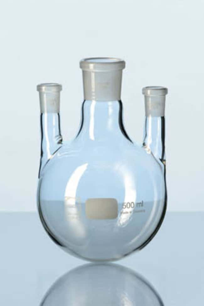 Duran™Three Necks Flask Capacity: 500mL; Socket Joint: NS 29/32 Centre, NS 14/23 Side Ver productos